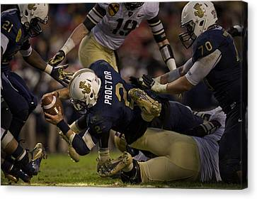 Army Versus Navy Canvas Print by Mountain Dreams