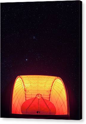 Aro Telescope Canvas Print by Babak Tafreshi