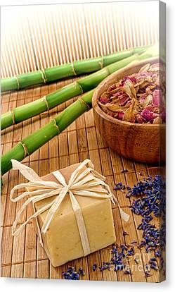 Aromatherapy Soap Bar Canvas Print by Olivier Le Queinec
