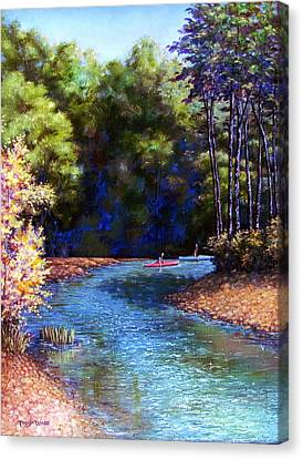 Around The Bend Canvas Print by Tanja Ware