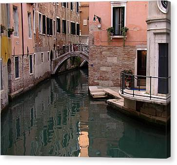 Canvas Print featuring the photograph Around The Corner by Walter Fahmy