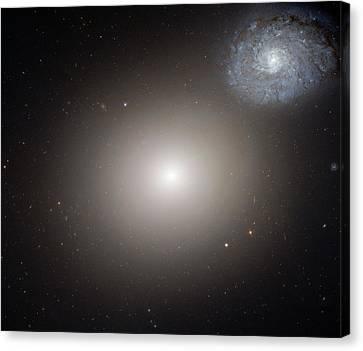 Arp 116 Galaxy Pair Canvas Print