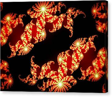 Array Of Lights Canvas Print