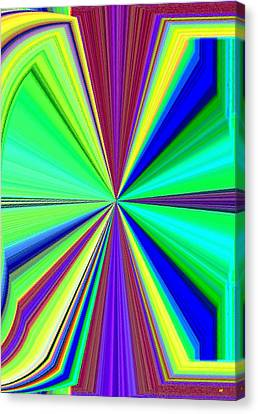 Arrest Canvas Print - Arresting Abstract by Will Borden