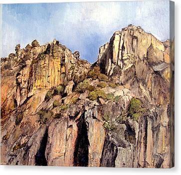 Arribes Del Duero Canvas Print by Tomas Castano