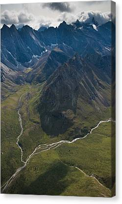 Arrigetch Peaks Canvas Print by Roger Clifford