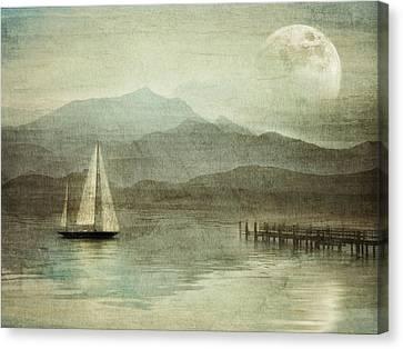 Arrival Canvas Print by manhART