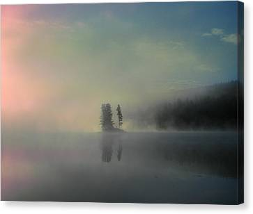 Arrival Of Dawn Canvas Print by Shirley Sirois