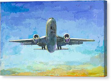 Arrivals #5 Canvas Print by David Palmer