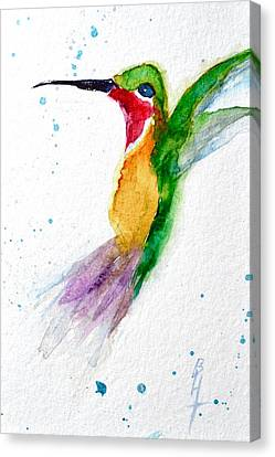 Arriving Canvas Print by Beverley Harper Tinsley