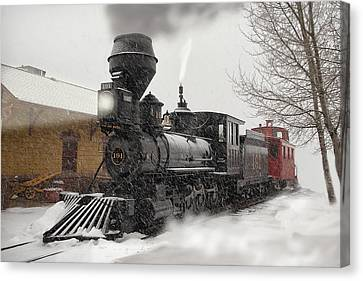 Arriving Canvas Print by Ken Smith