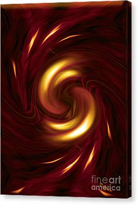Disdainful Canvas Print - Arrogance - Abstract Art By Giada Rossi by Giada Rossi