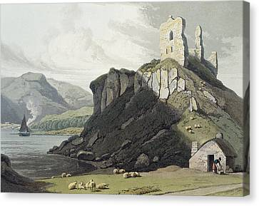Arros Castle, Isle Of Mull Canvas Print by William Daniell
