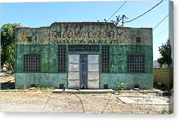 Arrow Creamery - Chino Ca Canvas Print by Gregory Dyer