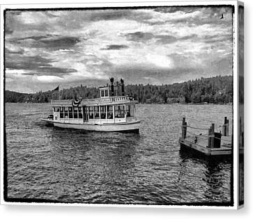 Arrowhead Queen Paddlewheel Boat Canvas Print by Glenn McCarthy Art and Photography
