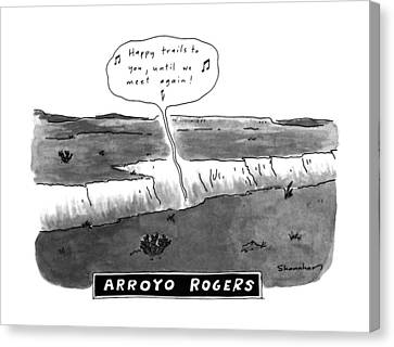 Arroyo Rogers Canvas Print by Danny Shanahan