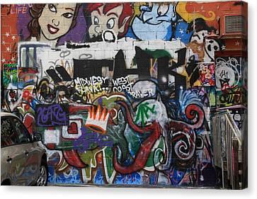 Art Alley 4 Canvas Print