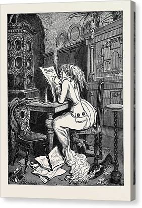 Art Caricature In Germany The Renaissance Of The Renaissance Canvas Print