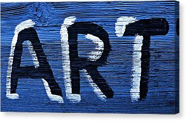 ART Canvas Print by Chris Berry
