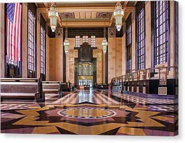 Art Deco Great Hall #2 Canvas Print