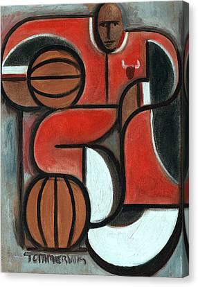 Art Deco Michael Jordan Art Print Canvas Print