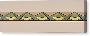 Art Deco Trim #2 Canvas Print by Nikolyn McDonald