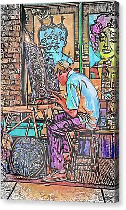 Art Demo Canvas Print by John Haldane