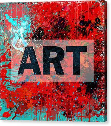 Art Canvas Print by Gary Grayson