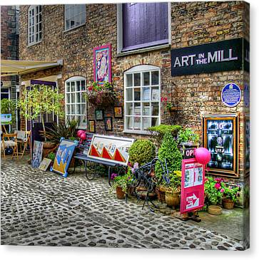 Art In The Mill Canvas Print by Doc Braham
