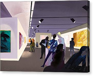 Art Museum Canvas Print by Clifford Faust