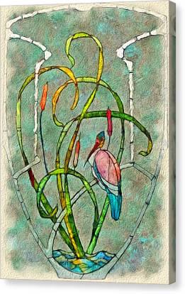Art Nouveau Canvas Print by Jack Zulli