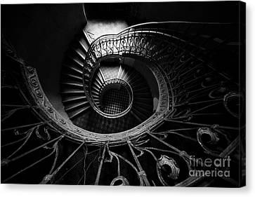 Art Nouveau Staircase Canvas Print by Jaroslaw Blaminsky