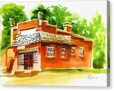 Art Studio Canvas Print by Kip DeVore