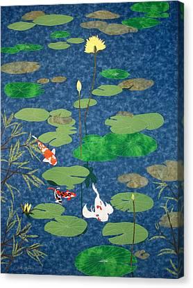 Art Thou Coy Canvas Print by Anita Jacques