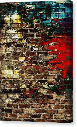 Mix Medium Canvas Print - Art Wall by Chastity Hoff
