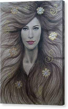 Artemis Canvas Print by Lynet McDonald