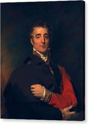 Arthur Wellesley, Duke Of Wellington Canvas Print by Sir Thomas Lawrence