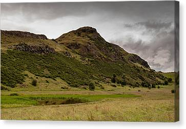 Canvas Print featuring the photograph Arthur's Saddle by Sergey Simanovsky