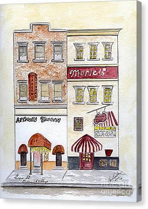 Arthur's Tavern - Greenwich Village Canvas Print