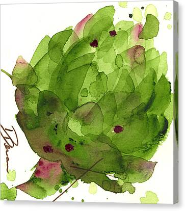Artichoke II Canvas Print by Dawn Derman