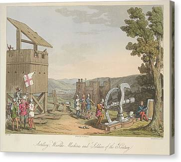 Artillery Canvas Print by British Library