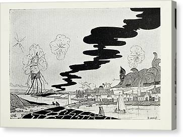 Artillery Fire Canvas Print by British Library