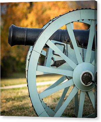 Artillery Canvas Print by James Barber