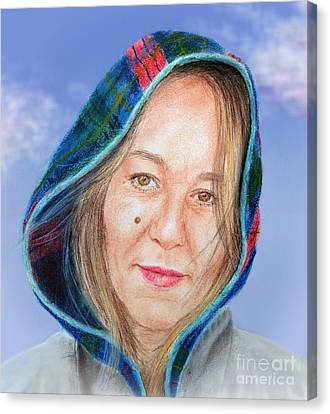 Artist Jadranka Bezanovic Sovilj  Version II Canvas Print by Jim Fitzpatrick