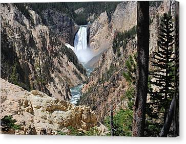 Artist Point Falls Canvas Print by Robert  Moss