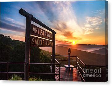 Artist Point Canvas Print