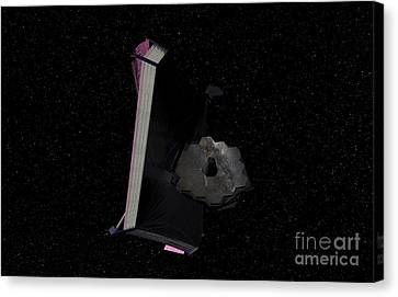 Artists Concept Of The James Webb Space Canvas Print