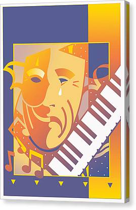 Arts And Music Canvas Print