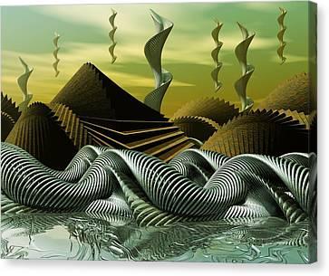 Artscape Canvas Print by John Alexander