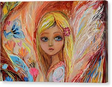 Giclee On Canvas Print - Artwork Fragment 55 by Elena Kotliarker
